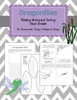 Dragonflies: Reading, Writing, and Thinking about Animals
