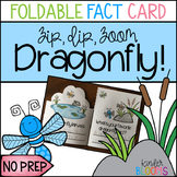 Dragonfly Science Craft {Foldable Fact Card}