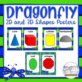 Dragonfly Classroom Theme Decor - 2D & 3D Posters