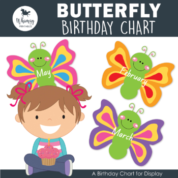 Dragonfly Themed Birthday Chart and Birthday Certificate