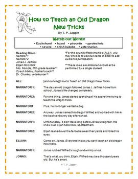 Readers' Theater Literacy Toolkit-How to Teach an Old Dragon New Tricks-Grd. 3-6