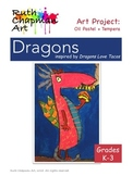 Dragons Love Tacos: Art Lesson for Grades K-3