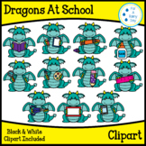 Dragons At School Clipart