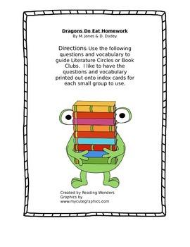 Dragons Do Eat Homework Book Club