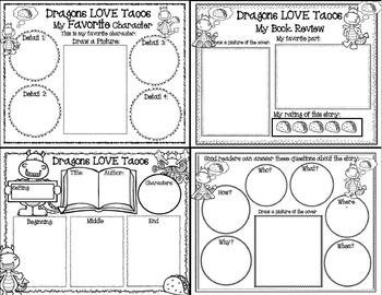 Dragons LOVE Tacos (Book Companion)