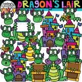 Dragons Lair Clipart {Dragon Clipart}