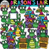 Dragons Lair Clipart {Dragon Clipart}