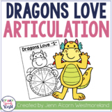 Dragons Love Articulation: No Prep Speech Therapy
