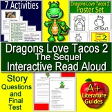 Dragons Love Tacos 2 Interactive Read Aloud Activity Dragons Love Tacos 2 Poster