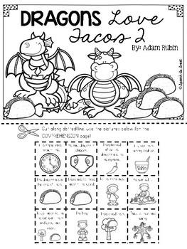 Dragons Love Tacos 2 Literature Lap Book