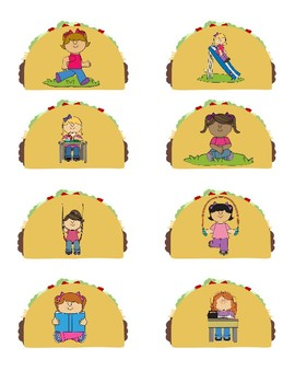Dragons Love Tacos Actions and Pronouns