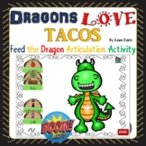 Dragons Love Tacos Articulation Activity for BOOM