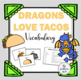 Dragons Love Tacos Book Companion: Vocabulary