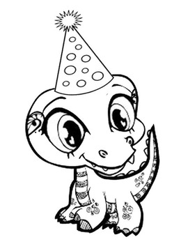 Dragons Love Tacos Coloring Page