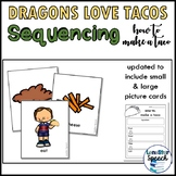 Dragons Love Tacos: How to Make a Taco Sequencing Activity
