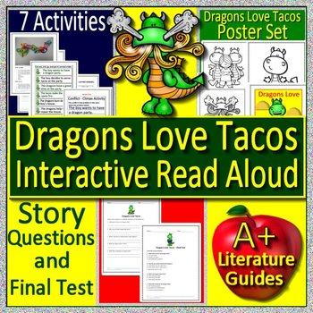 Dragons Love Tacos Interactive Read Aloud Activity Dragons Love Tacos Poster Set