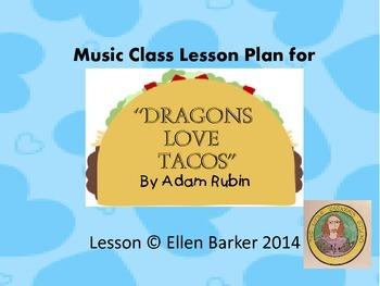 """Dragons Love Tacos"" Lesson Plan"