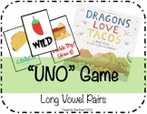 Dragons Love Tacos: Long Vowel Uno Game