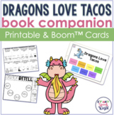 Dragons Love Tacos No Prep Speech & Language Activities | Boom Cards™ & Print