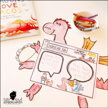 Dragons Love Tacos Print & Go Story Companion & Writing Prompts
