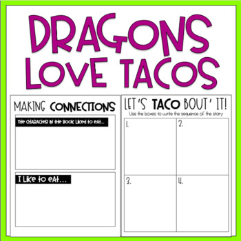 Dragons Love Tacos / Read-Aloud Book Companion