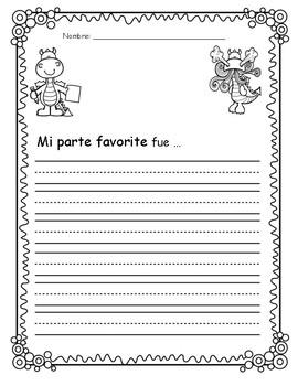 Dragons Love Tacos - Spanish writing