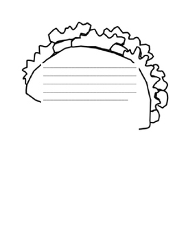 Dragons Love Tacos Writing Template