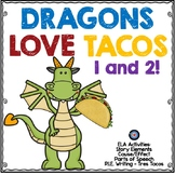 Dragons Love Tacos 1 and 2 with Author's Purpose Writing