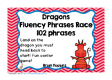 Dragons Sight Word Fluency Phrases Race