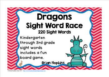 Dragons Sight Word Race