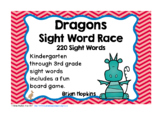 Dragons Sight Word Race