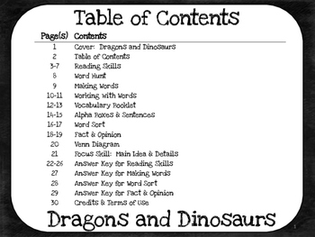 Dragons and Dinosaurs  4th Grade Harcourt Storytown Lesson 26