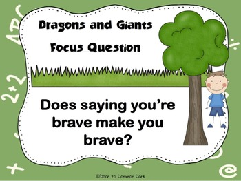 Dragons and Giants ~ 2nd Grade Open Court Resource