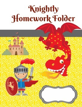 Dragons and Knights- Knightly Homework and Student Planner