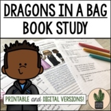 Dragons in a Bag Book Study Bundle for Distance Learning