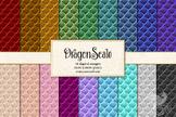 Dragonscale Digital Paper, dragon scales, mermaid, snake s