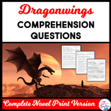 Dragonwings Complete Novel Comprehension Questions