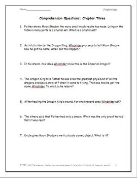 Dragonwings: A Complete Novel Study