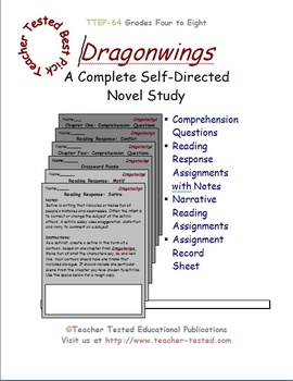 Dragonwings: A Complete Novel Study