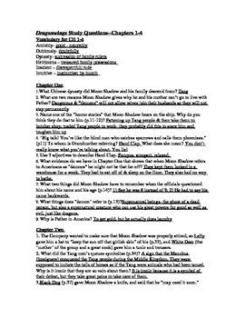 Dragonwings CH 1-4 Study Questions (w/ Ans Key)