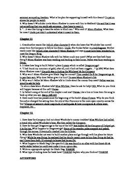 Dragonwings CH 9-12 Study Questions (w/ Ans Key)