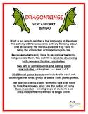 Dragonwings Vocabulary Bingo