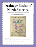 Drainage Basins Of North America