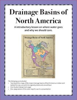 Drainage Basins Of North America