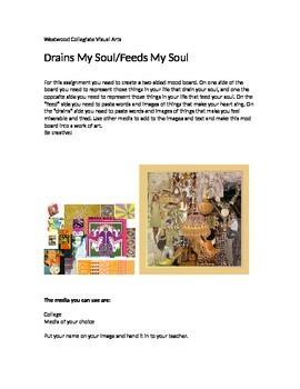 Drains My Soul- Feeds My Soul
