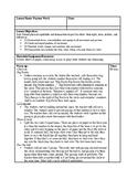 Drama 10 Movement Lesson Plan