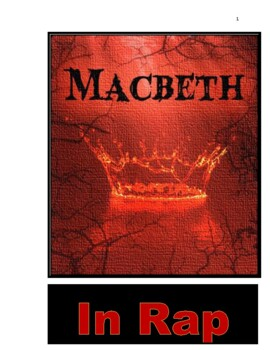 """Drama -- 10-minute """"Macbeth"""" script complete with stage-directions."""