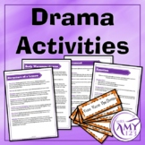 Drama Activities Book, Cards and Resources
