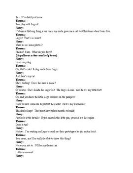 Drama - Adam and Eve in Legoland - Ten Minute Play