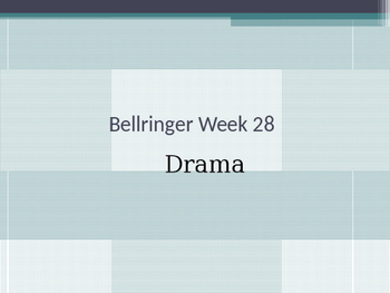 Drama Bellringers